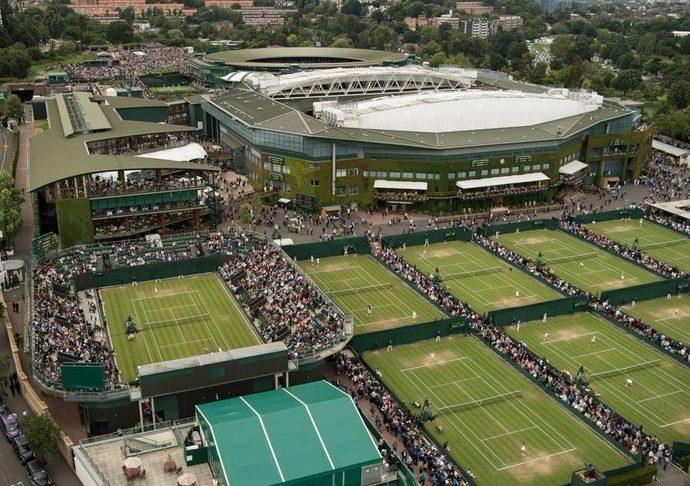 coronavirus cancella anche Wimbledon