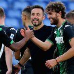 """Lazio-Sassuolo, De Zerbi: """"L'obiettivo è raggiungere il Milan"""""""