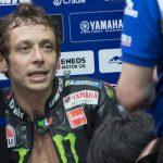 Valentino Rossi e l'addio al motomondiale