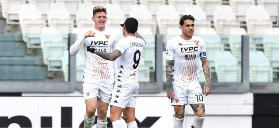 Juventus-Benevento 0-1