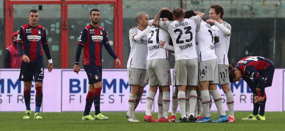 Crotone-Bologna 2-3