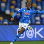 """Napoli, c.t. Nigeria: """"Osimhen sta bene, farà meglio in futuro"""""""