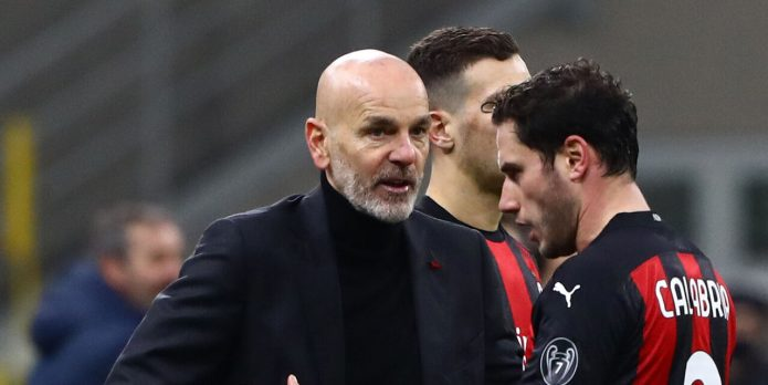 Pioli è contento della crescita del Milan