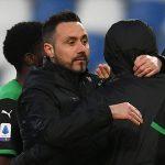 """Sassuolo-Fiorentina, De Zerbi: """"Berardi come me, in futuro vogliamo divertirci…"""""""