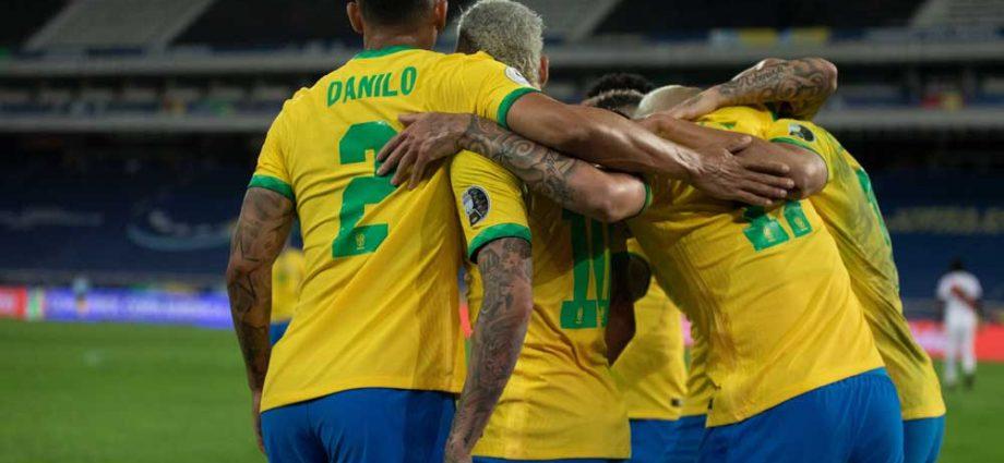 coppa america brasile in finale