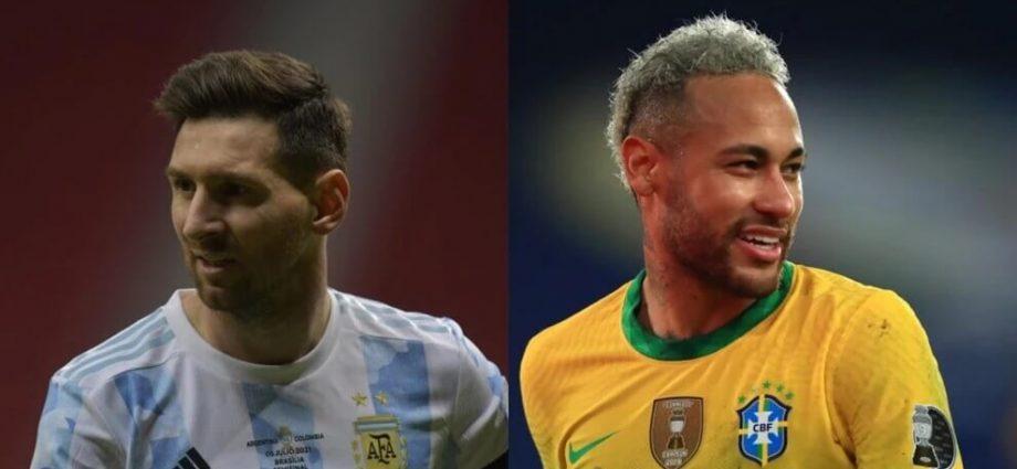 messi contro neymar