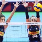 Le azzurre del volley battono la Slovacchia per 3-1