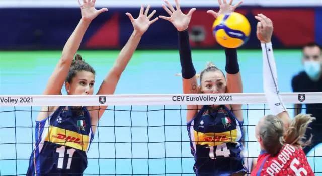 Le ragazze del volley battono anche la Croazia per 3-0