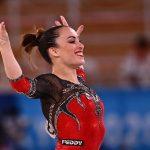 Vanessa Ferrari conquista l'argento nel corpo libero