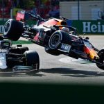 Verstappen penalizzato dopo l'incidente a Monza